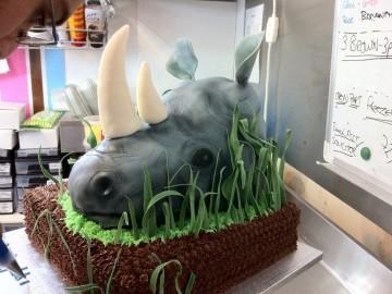 noshörningstårta