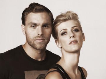 Amanda och Johan Elmander